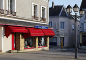 Corner in a French commune — Stock Photo