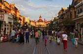 Evening in Disneyland, Paris — Stock Photo