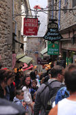 Streets of Mont Saint Michel — Stock Photo