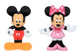 Mickey and Minnie mouse — Stock Photo