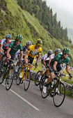 Yellow jersey — Stock Photo