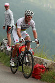 The cyclist Thor Hushovd — Stock Photo