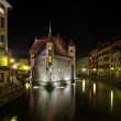 Royalty-Free Stock Photo: Annecy by night