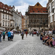Old town square in Prague — Stock Photo #9290564