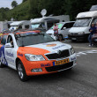 Stock Photo: Rabobank car
