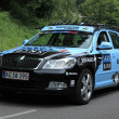 Stock Photo: Team Saxo Bank Sunguard car