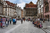 Old town square in Prague — ストック写真
