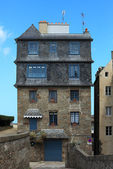 House in Saint Malo — Stock Photo