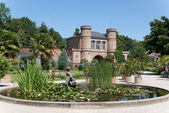 The bontanical garden of karlsruhe — Stock Photo