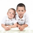 Two brothers together — Stock Photo #8535301