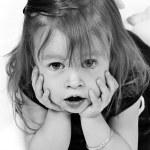Baby Girl in Dress — Stock Photo #8998394