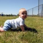 Crawling At the Park — Stock Photo #9001378