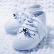 Stock Photo: Pair Of Baby Shoes 2