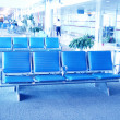 Royalty-Free Stock Photo: Inside airport - airport seating in big airport