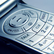 Closeup of Cellular Phone - Stock Photo