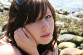 Young Woman Closeup — Stock Photo