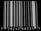 Bar code inversé — Photo