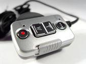Controle remoto para câmera digital — Fotografia Stock
