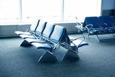 Letiště sezení - terminál letiště — Stock fotografie