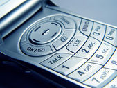 Closeup of Cellular Phone — Stock Photo