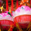 Royalty-Free Stock Photo: Variety of colorful Chinese Paper Lanterns