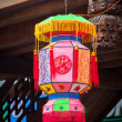 Traditional Chinese lantern - Stock Photo