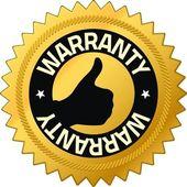 Warranty Quality Guarantee Badges — Stock Photo