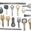 Keys set — Stock Photo