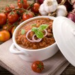 Stock Photo: Ragout sauce on bowl