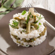 Risotto with artichokes — Stock Photo