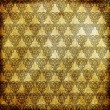 Royalty-Free Stock Photo: Gold metal pattern on paper backgrond