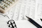Financial analysis — Stock Photo