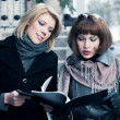 Two young businesswomen — Stock Photo #8200410