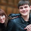 Happy young couple — Stock Photo #8200427