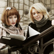 Two young businesswomen — Stock Photo #8470613