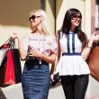 Royalty-Free Stock Photo: Young women shopping