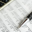 Financial analysis — Stock Photo #9018757