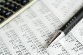 Finanzanalyse — Stockfoto