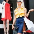 Two young women shopping — Stock Photo #9286872