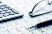 Buchhaltung. — Stockfoto
