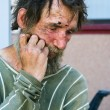 Homeless in despair — Stock Photo