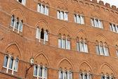 Palazzo sansedoni — Zdjęcie stockowe