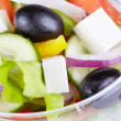 Greek salad — Stock Photo #8425251