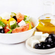 Greek salad — Stock Photo #8494975