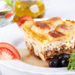 Greek cuisine — Stock Photo