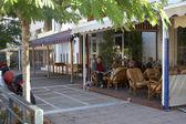 Street cafes — Stock Photo