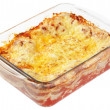 Stock Photo: Lasagna