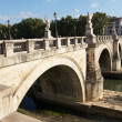 Stock Photo: Bridge of SAngelo