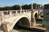 Bridge of San Angelo — Stock Photo