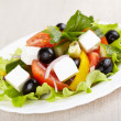 Greek salad — Stock Photo #9641383